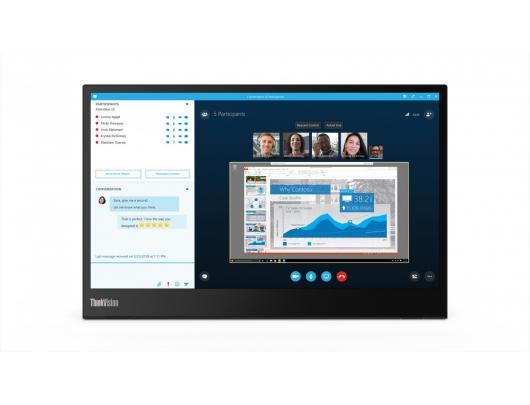 Monitorius Lenovo ThinkVision M14 14""