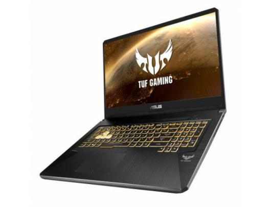 "Nešiojamas kompiuteris Asus TUF Gaming FX705DU-AU034T Gold Steel 17.3"" IPS Ryzen 7 3750H 8GB 1TB+256GB SSD NVIDIA GeForce GTX 1660Ti 6GB Windows 10"