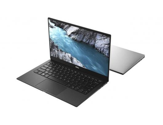 "Nešiojamas kompiuteris Dell XPS 13 7390 Silver 13.3"" UHD Touch i7-10510U 16GB 1TB SSD Intel UHD Windows 10 Pro"