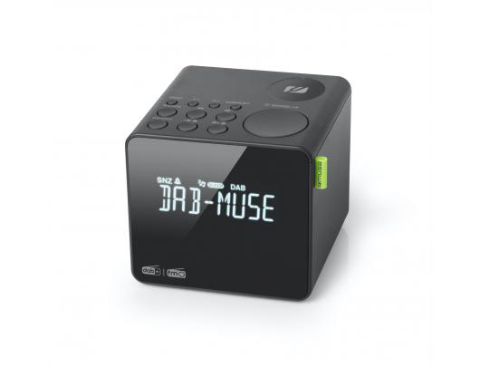 Radijo imtuvas Muse FM RDS Radio M-187 CDB , DAB+/ FM PLL Radio, Black