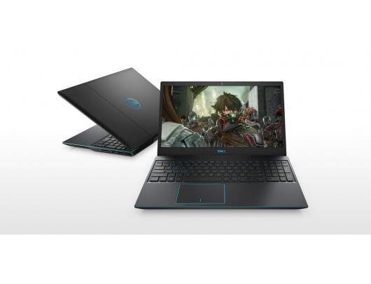 "Nešiojamas kompiuteris Dell G3 15 3590 Black 15.6"" i7-9750H 8GB 1TB+256GB SSD NVIDIA GeForce GTX 1660 Ti 6GB Linux"