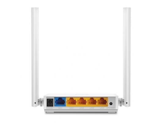 Maršrutizatorius TP-LINK Router TL-WR844N 802.11n, 300 Mbit/s, 10/100 Mbit/s, Ethernet LAN (RJ-45) ports 4, MU-MiMO Yes, Antenna type External