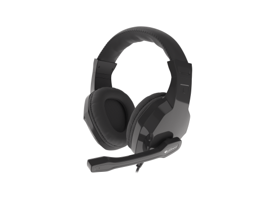 Ausinės GENESIS ARGON 100 Gaming Headset, On-Ear, Wired, Microphone, Black