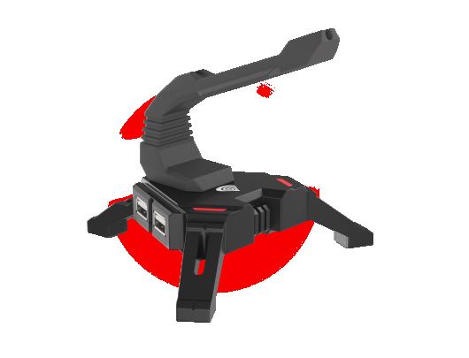 Žaidimų pelė Genesis Mouse Bungee Vanad 300 Gaming, Black