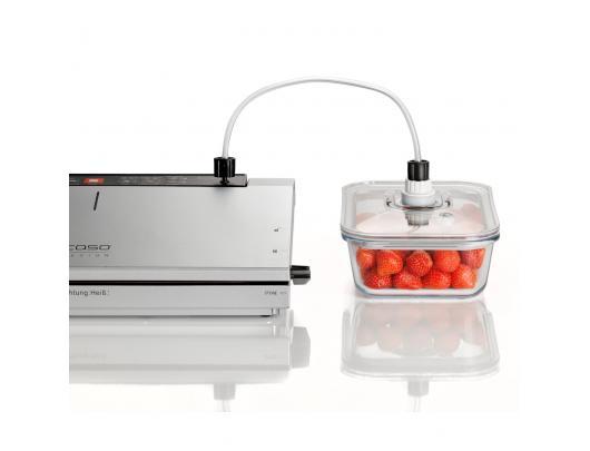 Vakuumavimo pompa su adapteriu Caso 01178 White