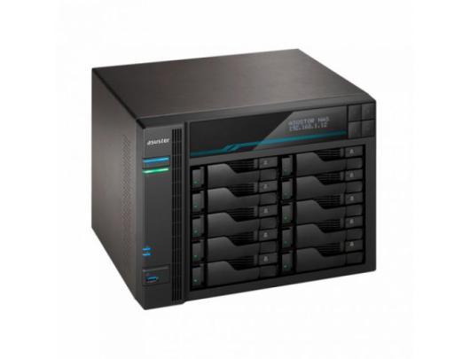Diskų masyvas Asus AsusTor 10 Bay NAS AS6510T Up to 10 HDD/SSD, Intel ATOM C3538 Quad-Core, Processor frequency 2.1 GHz, 8 GB, SO-DIMM DDR4, Black