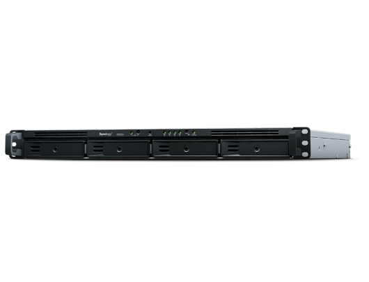 Diskų masyvas Synology Rack NAS RS820RP+ up to 4 HDD/SSD Hot-Swap, Intel Atom C3538 Quad Core, Processor frequency 2.1 GHz, 2 GB, DDR4, Redundant PSU, 0, 1, 5, 6, 10, Hybrid, 4x1GbE, 2xUSB3.0, 1xeSATA, Dual Fan