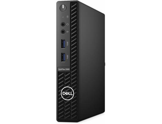 Kompiuteris Dell OptiPlex 3080 Desktop, Micro, Intel Core i3, i3-10100T, Internal memory 8 GB, DDR4, SSD 256 GB, Intel HD, Keyboard language English, Windows 10 Pro, Warranty Basic NBD Onsite 36 month(s)