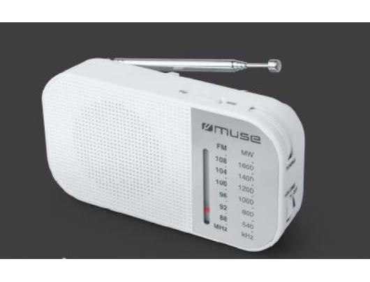 Radijo imtuvas Muse M-025 RW, , White