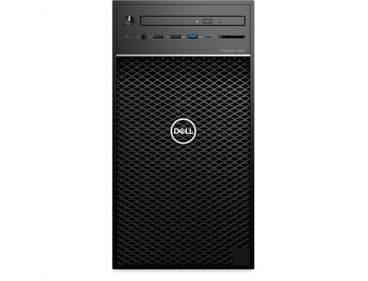 Kompiuteris Dell Precision 3640 Desktop, Tower, Intel Core i7, i7-10700, Internal memory 8 GB, DDR4, SSD 256 GB, NVIDIA Quadro P1000, No Optical Drive, Keyboard language No keyboard, Windows 10 Pro, Warranty Basic Onsite 36 month(s)