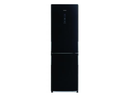 Šaldytuvas Hitachi Refrigerator R-BGX411PRU6 (GBK) Energy efficiency class F, Free standing, Height 190 cm, No Frost system, Fridge net capacity 215 L