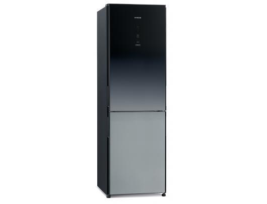 Šaldytuvas Hitachi Refrigerator R-BGX411PRU6 (XGR) Energy efficiency class F, Free standing, Combi, Height 190 cm, No Frost system, Fridge net capacit