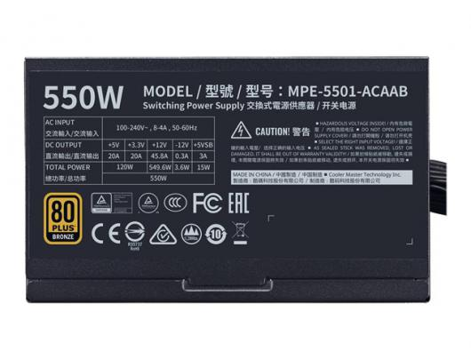 Maitinimo blokas Cooler Master MPE-5501-ACAAB 550 W