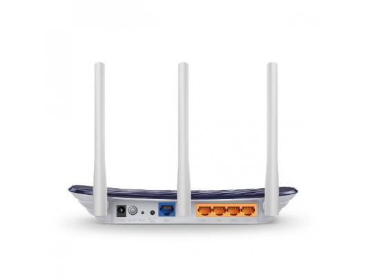Maršrutizatorius TP-LINK AC750 Wireless Dual Band Router EC120-F5 802.11ac, 433+300 Mbit/s, 10/100 Mbit/s, Ethernet LAN (RJ-45) ports 4, Antenna type 3xExternal