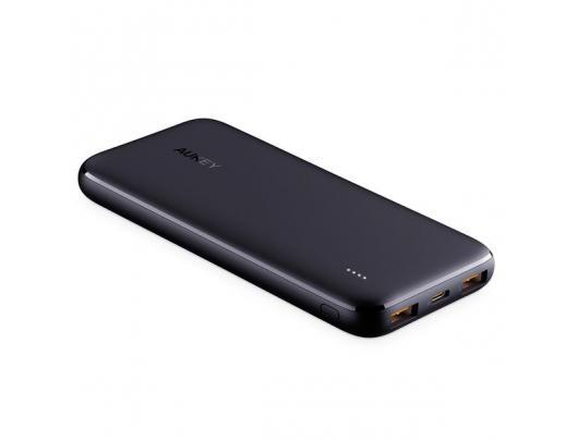 Išorinė baterija (power bank) Aukey Power bank PB-N73 10000 mAh, Black, 12 W