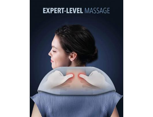 Masažuoklis Naipo Shoulder & Neck Massager oCuddle Plus, Grey
