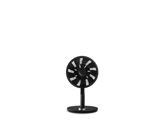 Ventiliatorius su stovu Duux Fan Whisper Flex Ultimate Stand Fan, Number of speeds 30, 3-32 W, Oscillation, Diameter 34 cm, Black