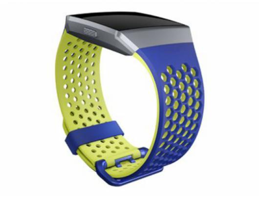 Apyrankė Fitbit Ionic Accessory, Sport Band, Blue/Yellow