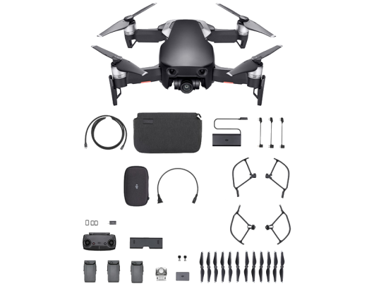 Dronas DJI Mavic AIR Fly More Combo