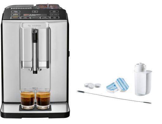 Kavos aparatas Bosch TIS30321RW + priežiūros priemonių rinkinys